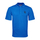Royal Mini Stripe Polo-Interlocking BC