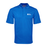 Royal Mini Stripe Polo-Blinn Institutional