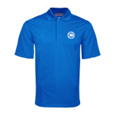 Royal Mini Stripe Polo-Alumni Lettermen Association