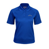Ladies Royal Textured Saddle Shoulder Polo-Arched Buccaneers