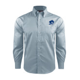 Red House Lt Blue Long Sleeve Shirt-Buccaneer Head