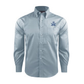 Red House Lt Blue Long Sleeve Shirt-B w/Swords