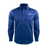 Red House French Blue Long Sleeve Shirt-Blinn