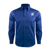 Red House French Blue Long Sleeve Shirt-Alumni Lettermen Association