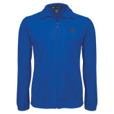 Fleece Full Zip Royal Jacket-Interlocking BC