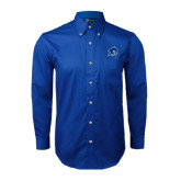 Royal Twill Button Down Long Sleeve-Buccaneer Head