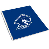 College Spiral Notebook w/Clear Coil-Buccaneer Head