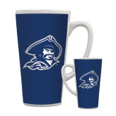 Full Color Latte Mug 17oz-Buccaneer Head