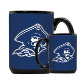 Full Color Black Mug 15oz-Buccaneer Head
