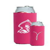 Neoprene Hot Pink Can Holder-Kay Yow Breast Cancer Fund Ribbon