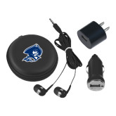 3 in 1 Black Audio Travel Kit-Buccaneer Head