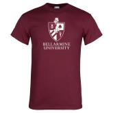 Maroon T Shirt-Bellarmine University Logo