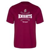 Performance Maroon Tee-Knights Softball Seams