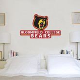 3 ft x 3 ft Fan WallSkinz-Bloomfield College Bears Stacked