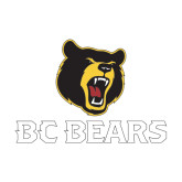Medium Decal-BC Bears Stacked