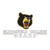 Large Decal-Bloomfield College Bears Stacked