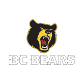 Small Decal-BC Bears Stacked