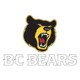Extra Large Decal-BC Bears Stacked