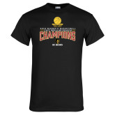 Black T Shirt-2018 Womens Regular Season Basketball Champions