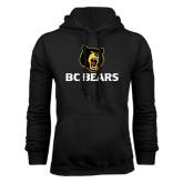 Black Fleece Hoodie-BC Bears Stacked