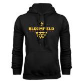 Black Fleece Hoodie-Basketball Sharp Net Design