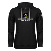 Adidas Climawarm Black Team Issue Hoodie-Bloomfield College Bears Stacked