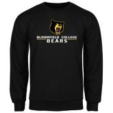 Black Fleece Crew-Bloomfield College Bears Stacked