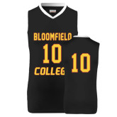 Replica Black Adult Basketball Jersey-#10