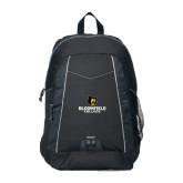 Impulse Black Backpack-Primary Mark