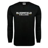 Black Long Sleeve TShirt-Wordmark