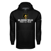 Under Armour Black Performance Sweats Team Hoodie-Track and Field