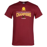 Cardinal T Shirt-2018 Womens Regular Season Basketball Champions