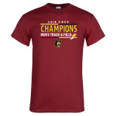 Cardinal T Shirt-2018 CACC Mens Track and Field Champions