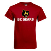 Cardinal T Shirt-BC Bears Stacked