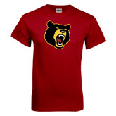 Cardinal T Shirt-Bear Head