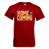 Cardinal T Shirt-2016 Homecoming Stacked Distressed