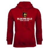 Cardinal Fleece Hoodie-Primary Mark