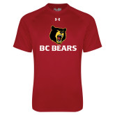 Under Armour Cardinal Tech Tee-BC Bears Stacked