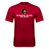 Syntrel Performance Cardinal Tee-Bloomfield College Bears Stacked