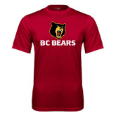 Syntrel Performance Cardinal Tee-BC Bears Stacked