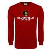 Cardinal Long Sleeve T Shirt-Primary Mark