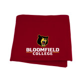 Cardinal Sweatshirt Blanket-Primary Mark