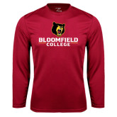 Syntrel Performance Cardinal Longsleeve Shirt-Primary Mark