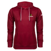Adidas Climawarm Cardinal Team Issue Hoodie-BC Bears Stacked