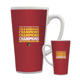 Full Color Latte Mug 17oz-Mens Basketball Champions Stacked