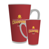 Full Color Latte Mug 17oz-2018 Womens Regular Season Basketball Champions