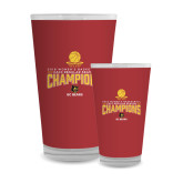 Full Color Glass 17oz-2018 Womens Regular Season Basketball Champions