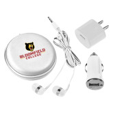 3 in 1 White Audio Travel Kit-Primary Mark