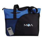 Excel Royal Sport Utility Tote-MOA Letters Only