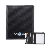 Carbon Fiber Tech Padfolio-MOA Letters Only